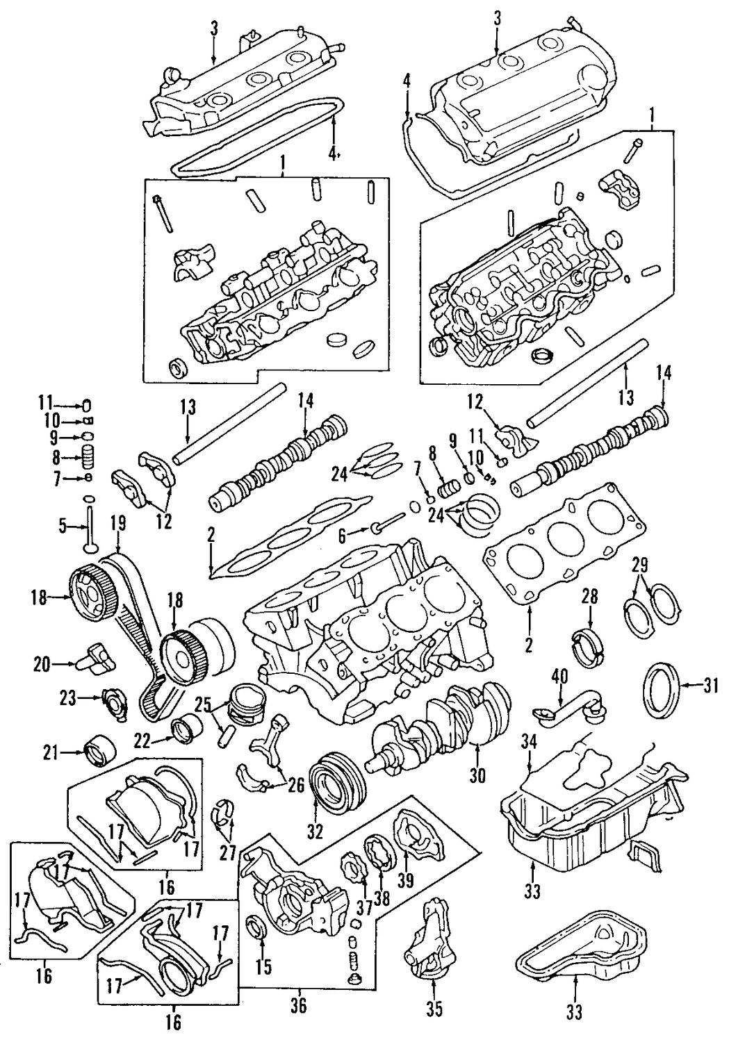 Mitsubishi Montero Sport Engine Diagram