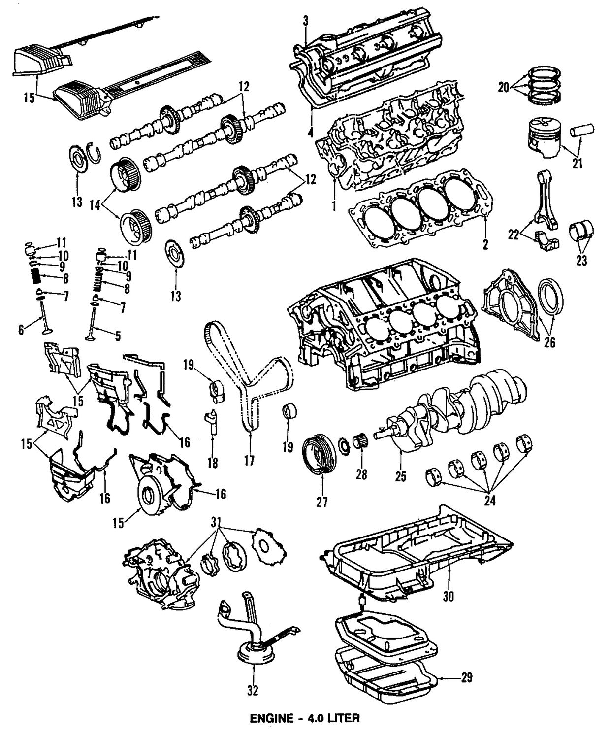 Lexus Engine Diagram