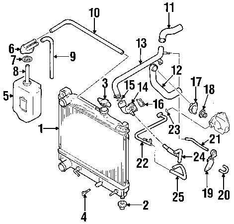Genuine chevrolet heater hose che 30027988