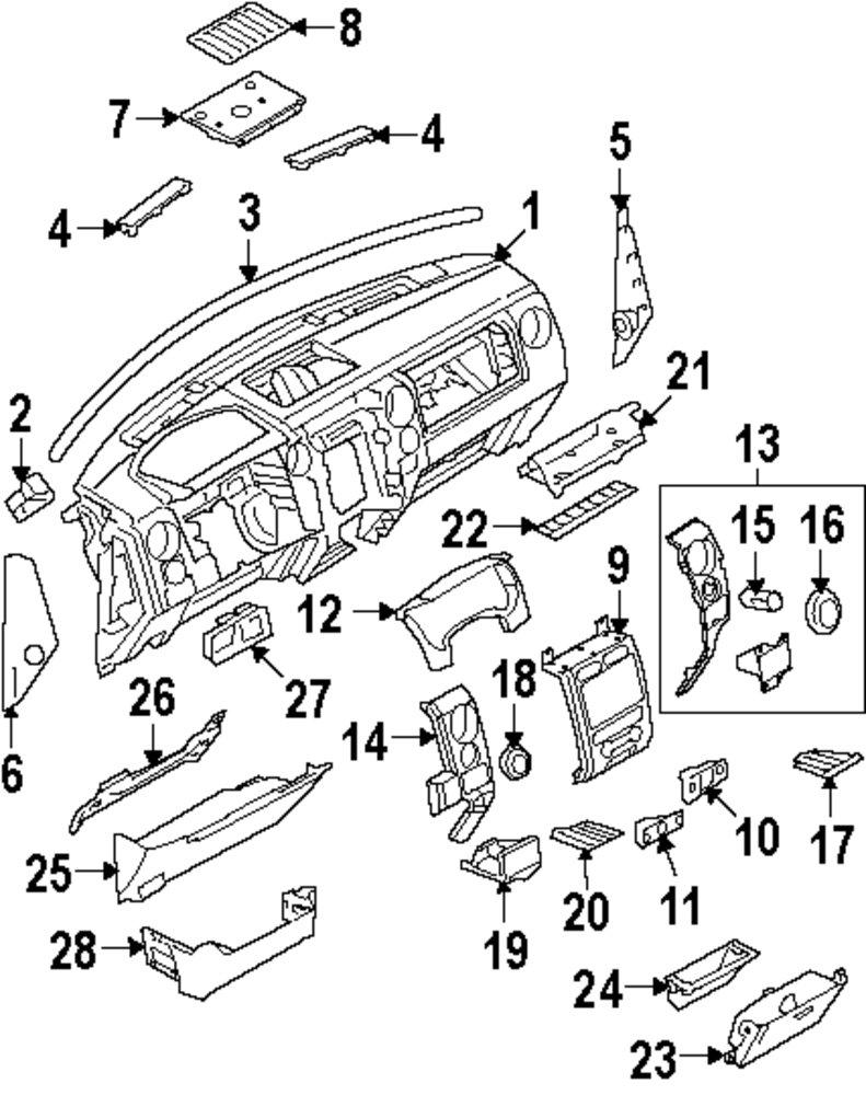 Manufacturer genuine ford