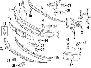 Ford F 150 Bumper Diagram | Online Wiring Diagram