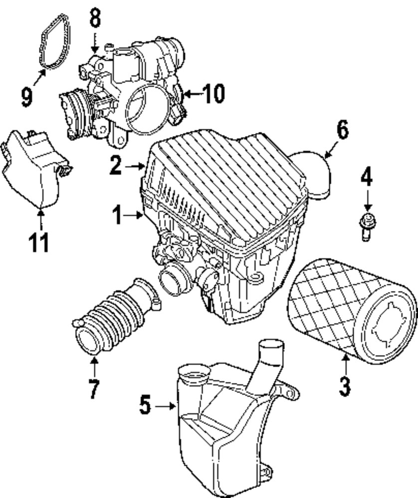 2003 mercedes s430 engine parts diagram