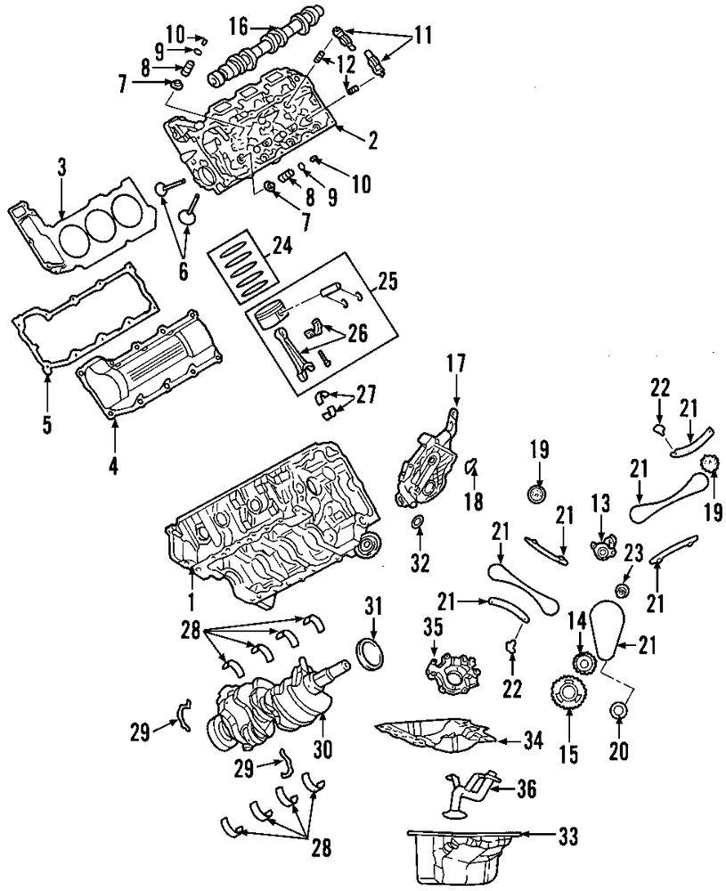 Genuine dodge bearings dod 68052222ab