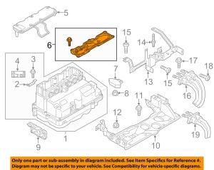 AUDI OEM 2016 A3 Sportback etron ElectricalRepair Kit 12E998152A