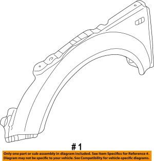 AUDI OEM 0006 TT QuattroFront Fender Quarter Panel Left 8N0821105 | eBay