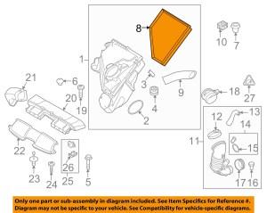 BMW OEM 0911 335d EngineAir Cleaner Filter Element 13717797465 | eBay