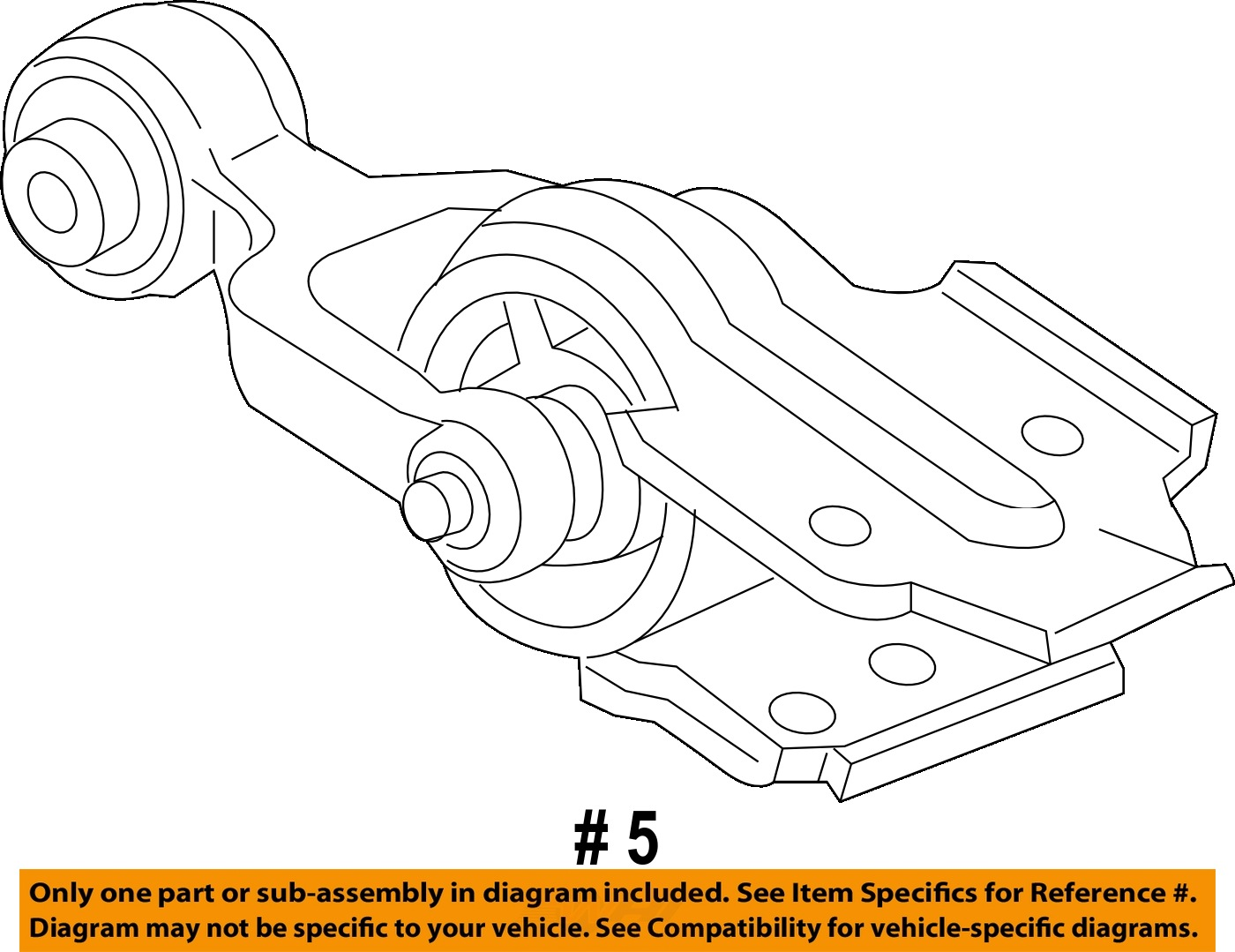 Chevy impala 3 6 upper dogbone motor mount