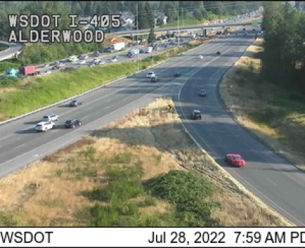 I-5/I-405 Interchange (Alderwood) traffic camera