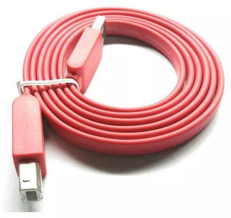 2B DC076 Printing Flat Cable - 1.5M - Red