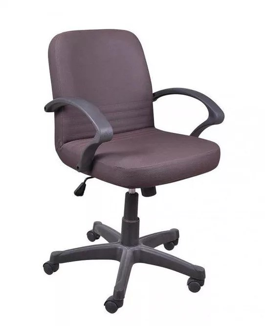 Sarcomisr Nova Leather Office Chair Brown