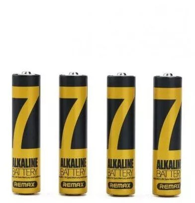 Remax AAA Alkaline Batteries - 1.5V - 4 Pcs