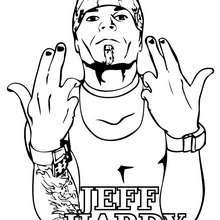 Dibujo De Jeff Hardy De Wwe Para Colorear Dibujos Para Modern Home