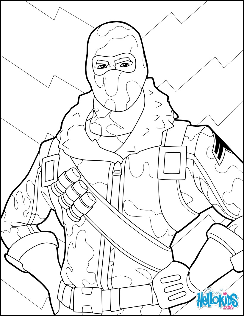 Dibujos De Fortnite Para Colorear Faciles Imagesacolorierwebsite