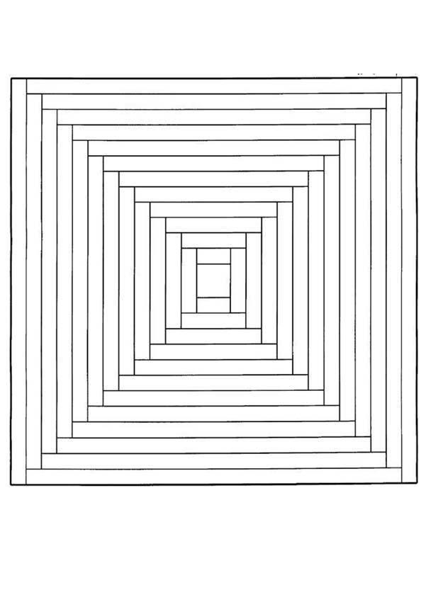 Paisajes Tridimensionales Para Colorear Novocom Top