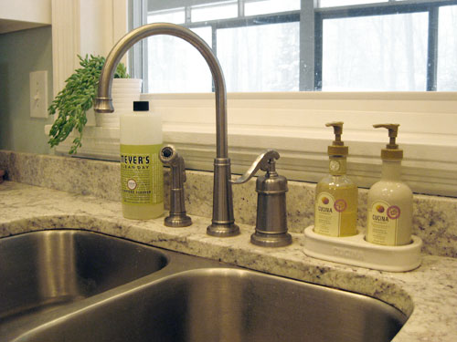 how to replace a kitchen faucet young