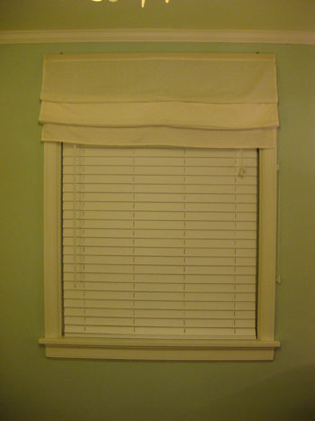 Hanging Some White Faux Wood Blinds In The Bedroom Young