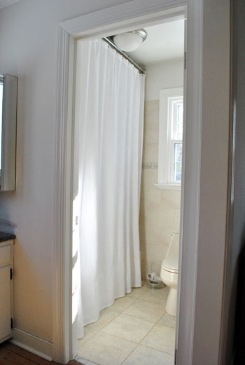 Ahhh. Note: You Can Read More About Raising Your Shower Rod And Finding Extra  Long Liners And Curtains Here.