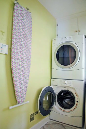 How To Hang Your Ironing Board On The Wall (The Easy Way ...