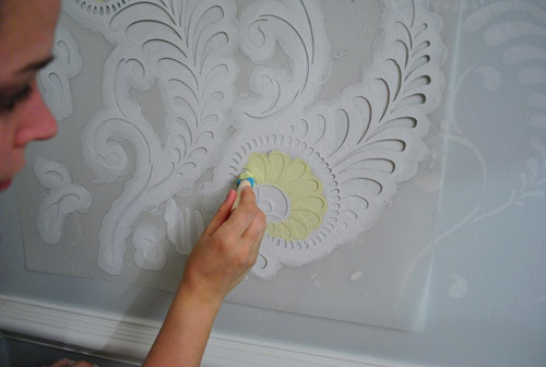 Ten Step By Wall Stenciling Tips You Can Do It Young House Love