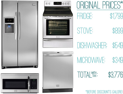 How We Saved Money (63% off!) On Our Kitchen Appliances   Young ...