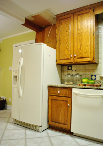 Shifting Cabinets And Appliances For A New Kitchen Layout Young House Love