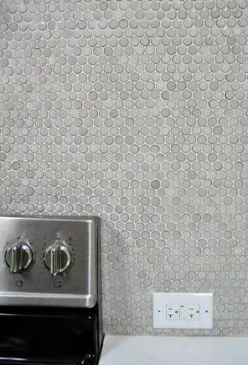 How To Grout Penny Tile | Young House Love