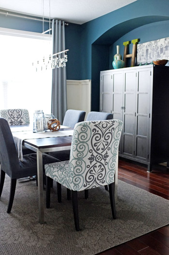 I Have Blogged About All The DIY Dining Room Projects On My Blog, Aptly  Named Teal U0026 Lime (I Promise I Do Like Other Colors Too).