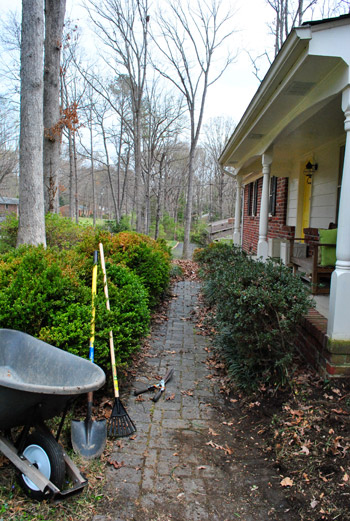 Clearing Out And Cleaning Up The Path To Our Front Door | Young ...