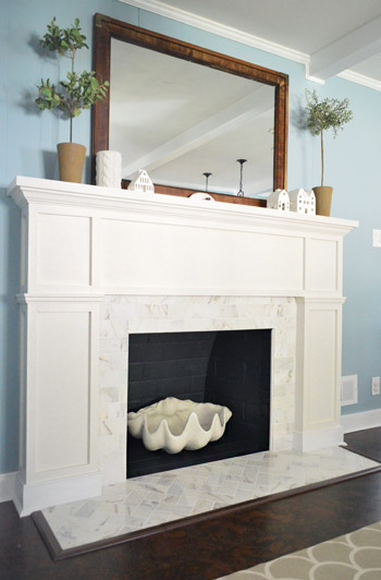 fireplaces fireplace ideal digital tile marble anima porcelain surround orig white