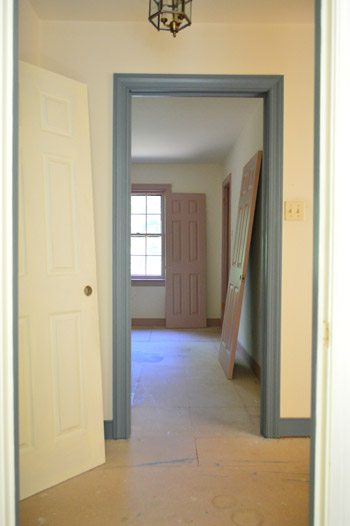 Priming And Painting Our Trim And Doors With A Paint