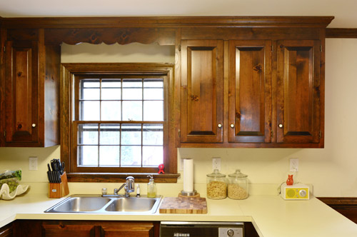 removing some kitchen cabinets