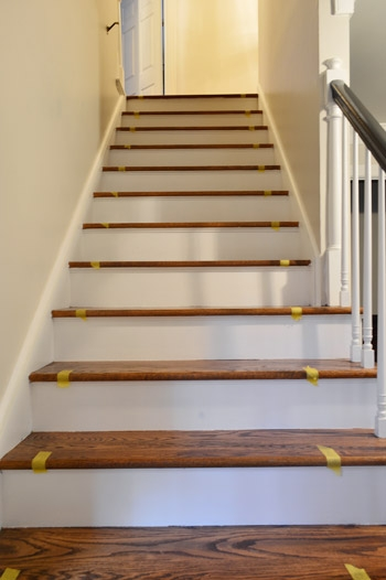How To Install A Stair Runner Yourself Young House Love   Rug For Bottom Of Stairs   Stairs Floormat   Stair Runners   Flooring   Landing Mat   Rectangle