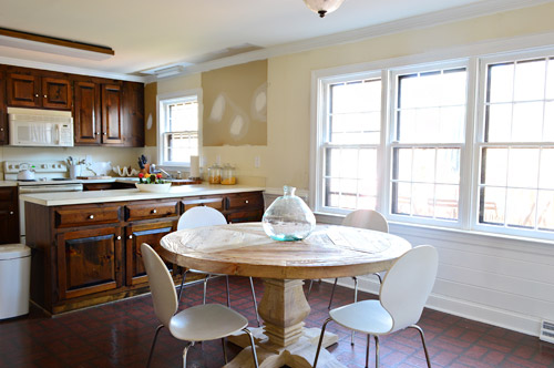 A Soft Blue-Gray Paint Color For The Kitchen   Young House Love