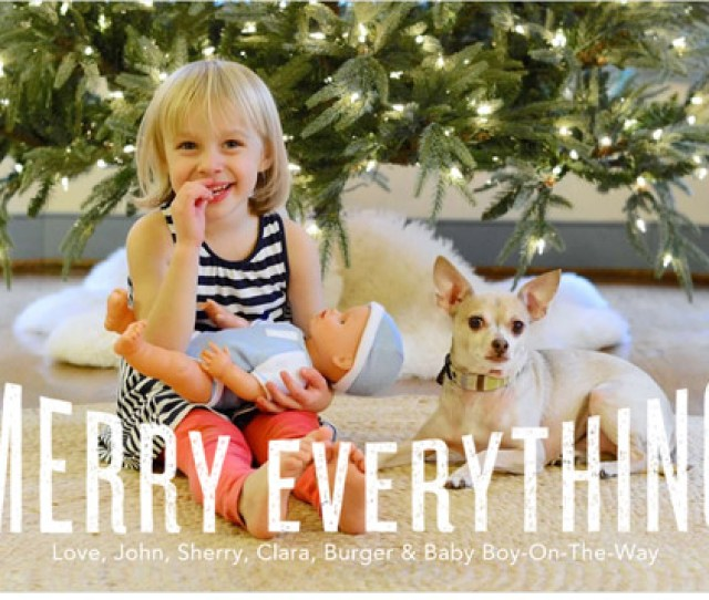 Cute Christmas Card Ideas You Can Photograph Yourself