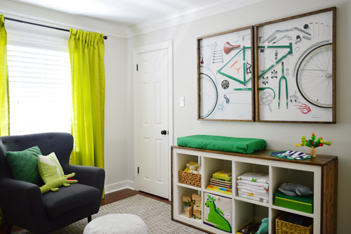 Although I couldn\u0027t recoup the time I spent making the colorful curtains they were under $10 a pop so it seemed silly to stay married to them at the ... & A Colorful Door \u0026 More Nursery Art | Young House Love