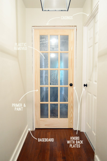 And because a bunch of you requested the full play-by-play hereu0027s how we added jambs and hung both doors u2013 complete with details on carving out a spot for ... & Thatu0027s My Jamb (aka: How To Hang A Door) | Young House Love