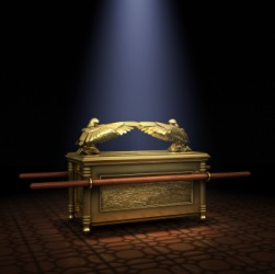 The ark of the covenant.