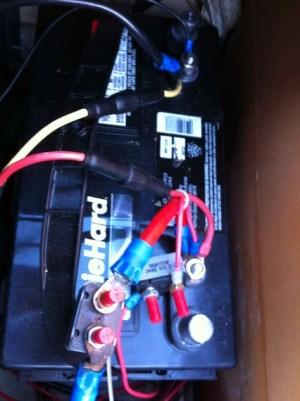 trolling motor battery issues, 1997 Pantera II  Bass Cat Boats
