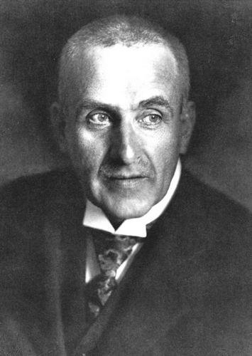 Frank Wedekind (Fotografie, um 1917)