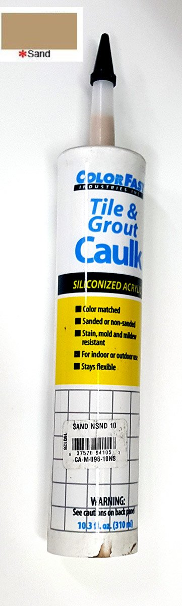 color matched to mapei caulk by
