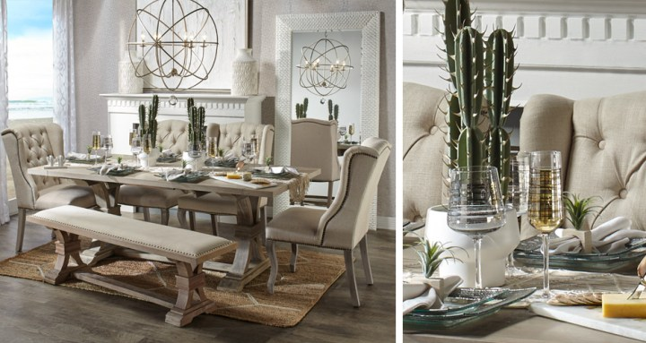 Stylish Home Decor   Chic Furniture At Affordable Prices   Z Gallerie Archer Wash Oak Dining Room Inspiration