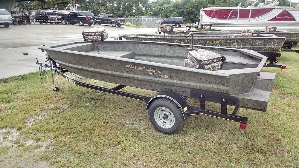 Bottom Land War Eagle Boats