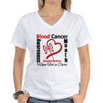 Lymphoma Awareness Month v4 Women's V-Neck T-Shirt