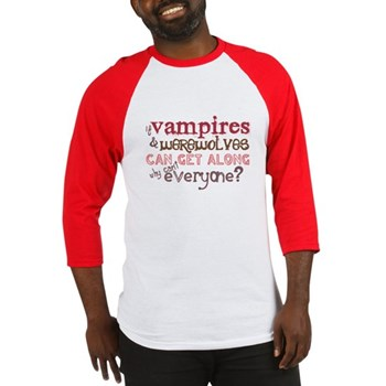 vampires and werewolve shirt