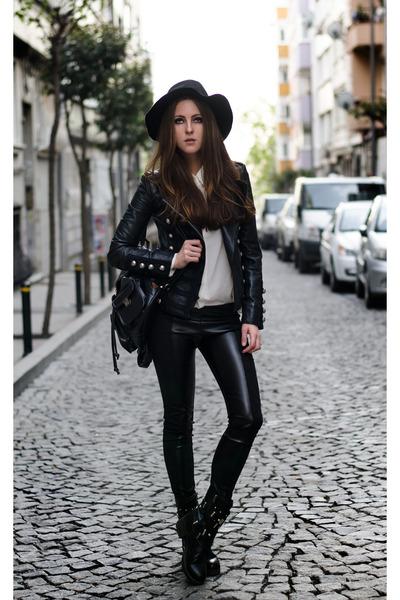 Black Leather Jacket Boda Skins Jackets Bodas Oil