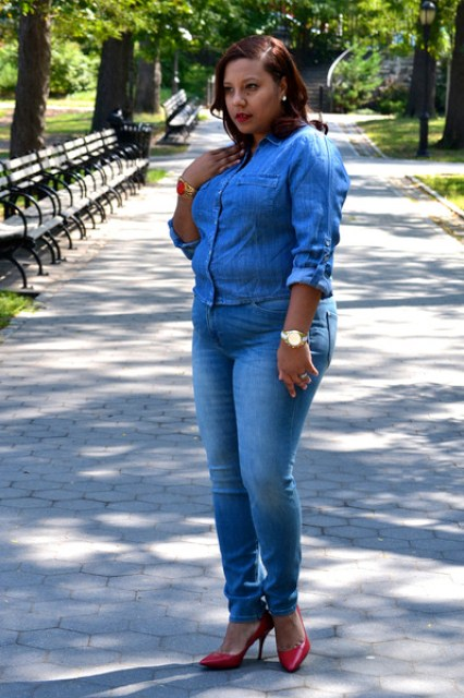 New York and Company jeans - New York and Company blouse