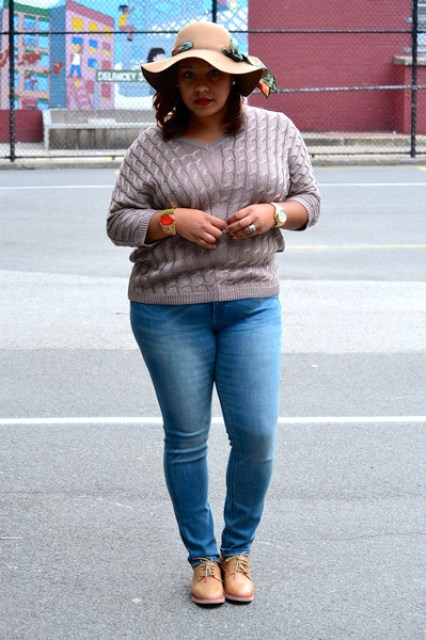 New York and Company sweater - Sketchers shoes - New York and Company jeans