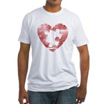 PIECE OF MY HEART Fitted T-Shirt