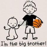 I'm The Big Brother Kids T-Shirt Design