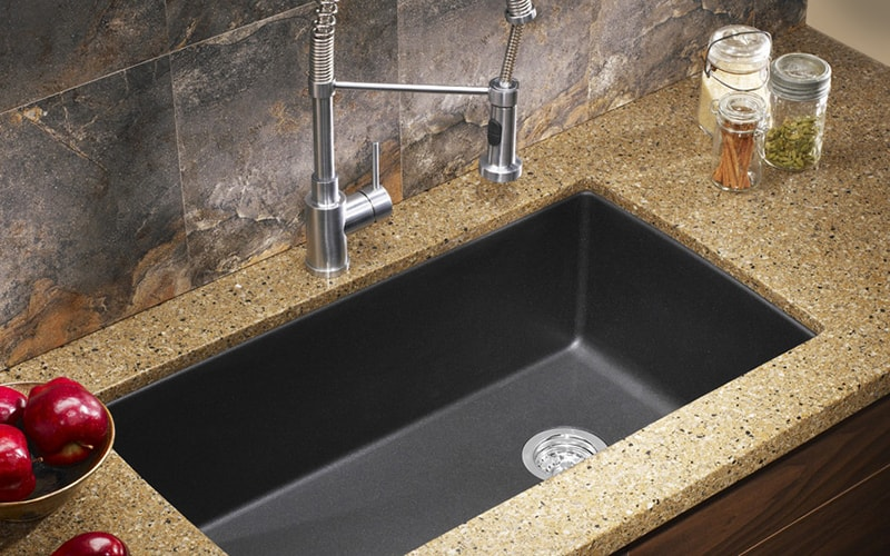 how to install an undermount sink in